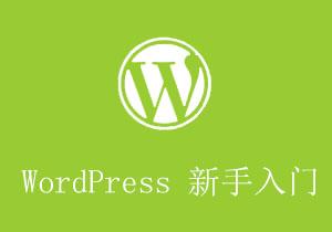 WordPress新手入门